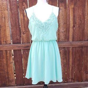 LUSH Minty Green Dress size Medium